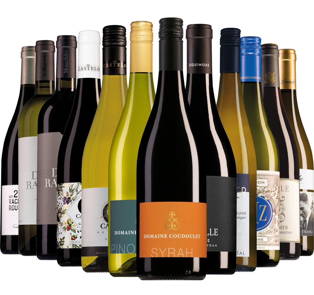 Wijnpakket Wijnbericht juni (12 flessen)